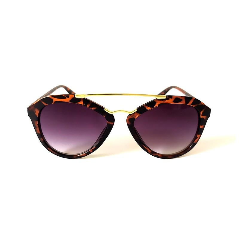 Óculos de Sol Cayo Blanco Feminino Tartaruga Lente Preto   - Cayo Blanco
