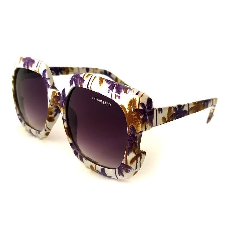 Óculos de Sol Cayo Blanco Feminino Tropical   - Cayo Blanco