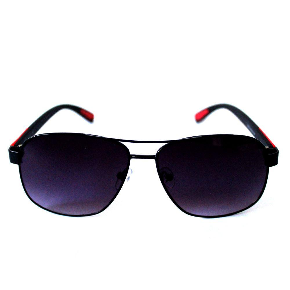 Óculos de Sol Cayo Blanco Preto e Vermelho