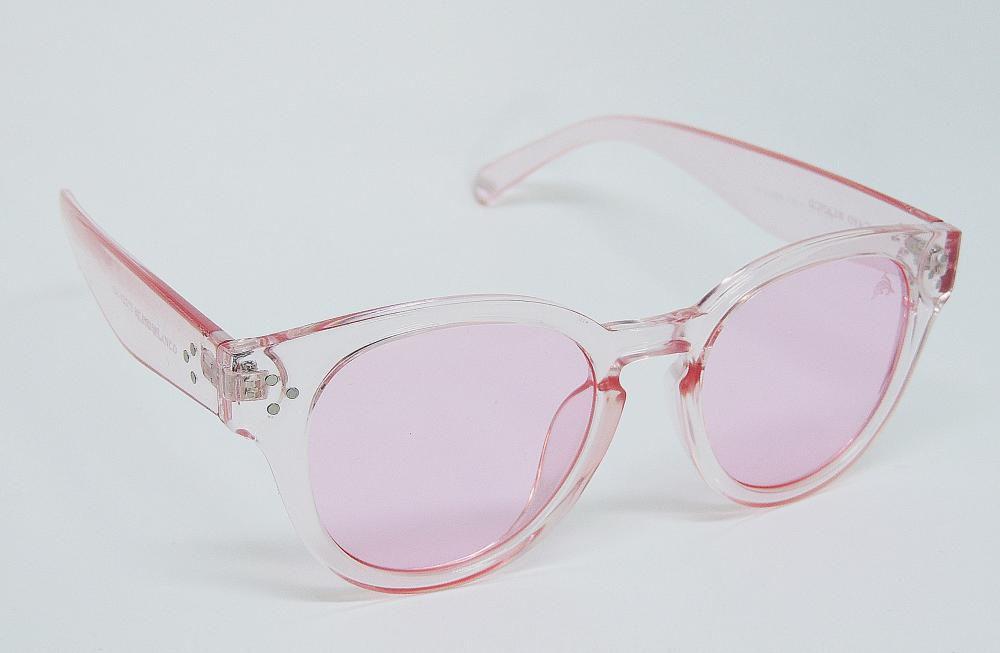 Óculos de Sol Cayo Blanco Redondo Rosa  - Cayo Blanco