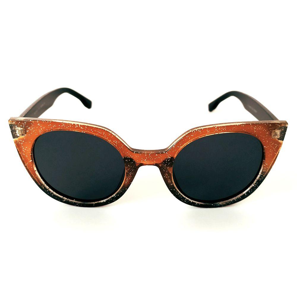 Óculos de Sol Fashion Amarelo/Preto Cayo Blanco