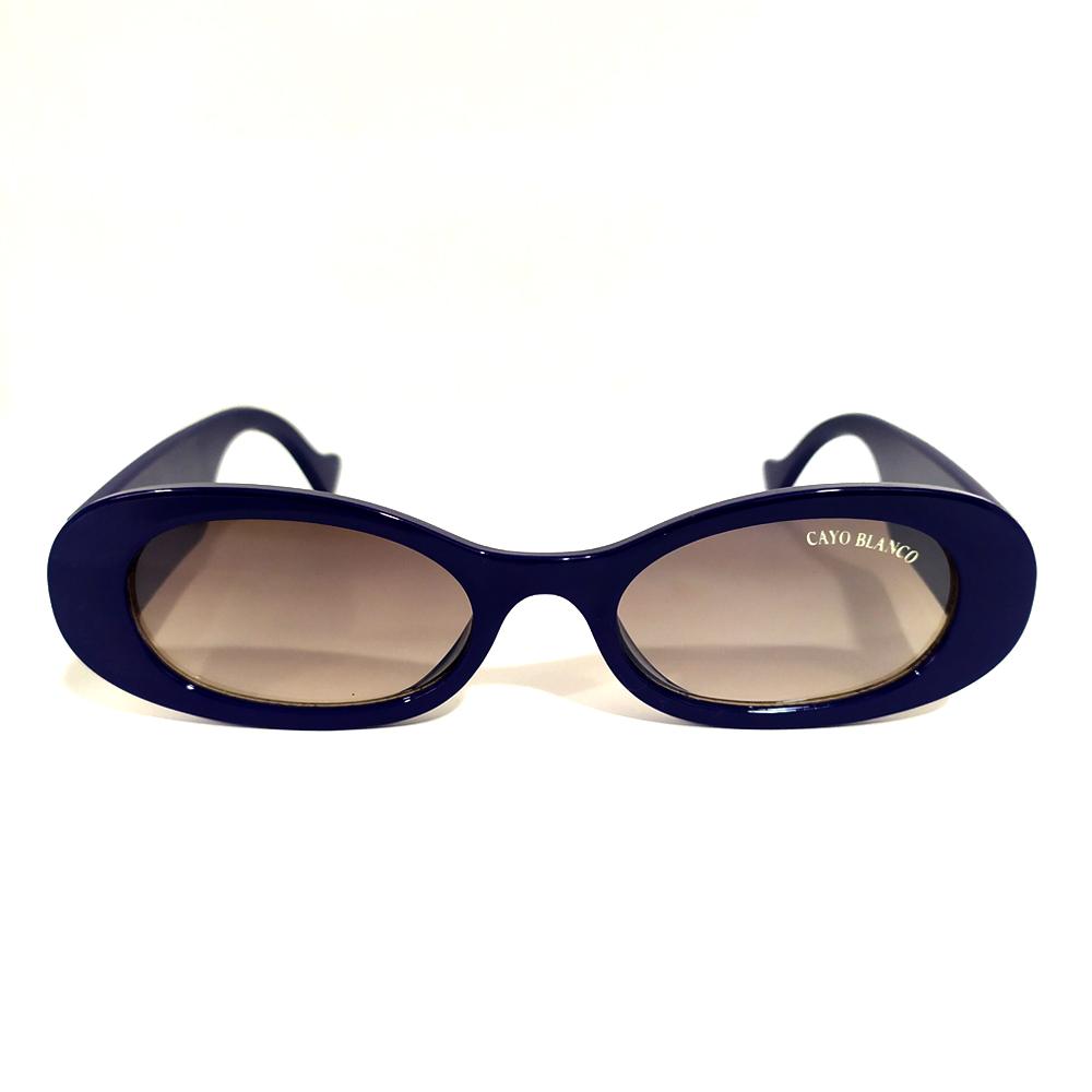Óculos de Sol Fashion Azul Cayo Blanco  - Cayo Blanco