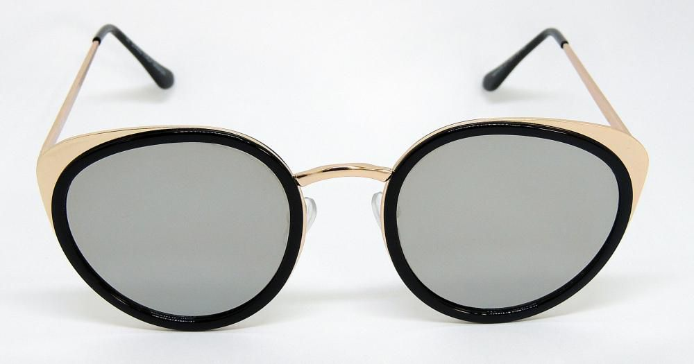 Óculos de Sol Feminino Redondo Fashion Cayo Blanco 2018