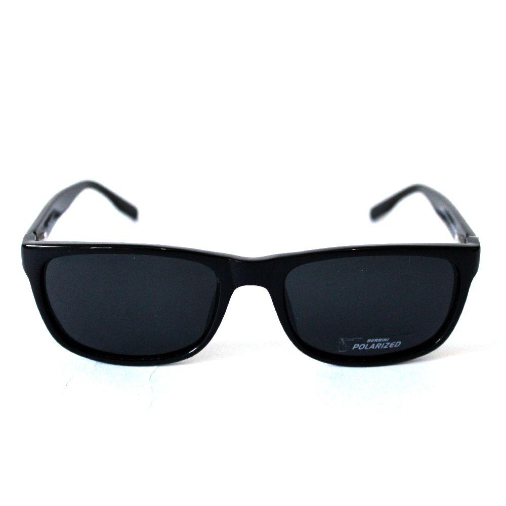 Óculos de Sol Quadrado Preto Cayo Blanco