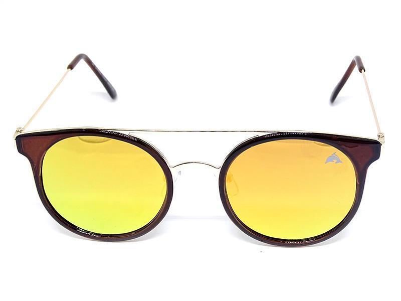 Óculos de Sol Redondo Espelhado Cayo Blanco  - Cayo Blanco