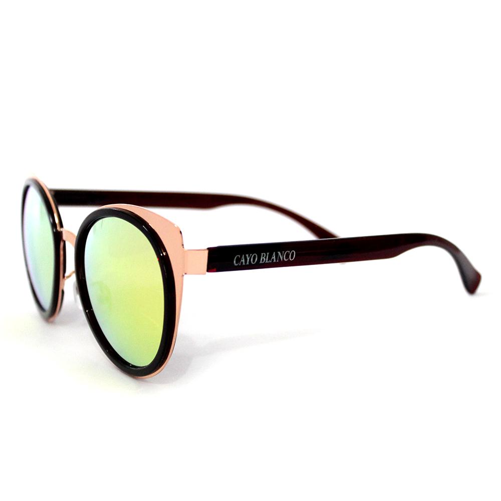 Óculos de Sol Redondo Fashion Cayo Blanco  - Cayo Blanco