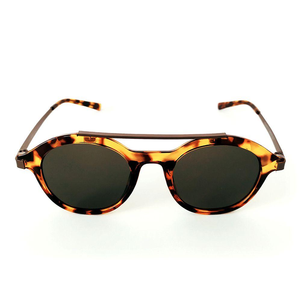 Óculos de Sol Redondo Tartaruga Cayo Blanco