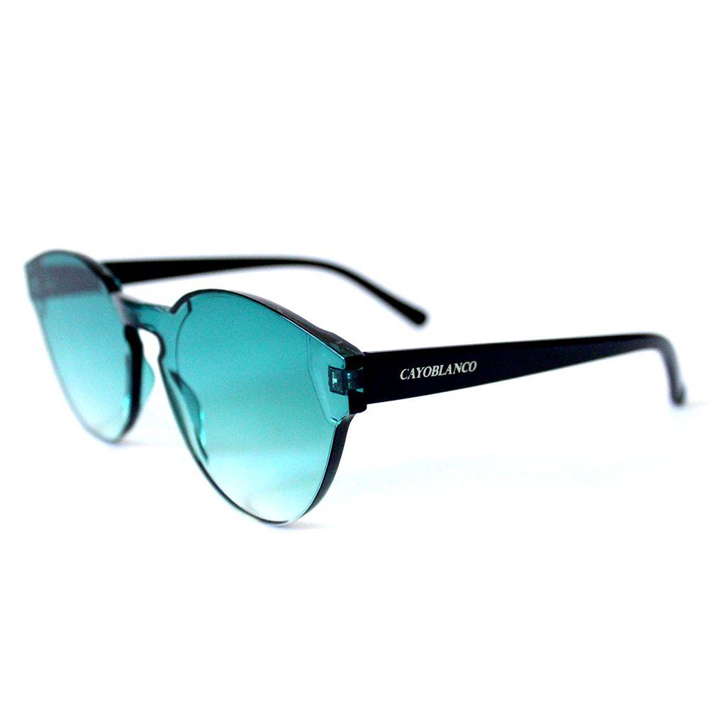 Óculos de Sol Redondo Verde Cayo Blanco  - Cayo Blanco