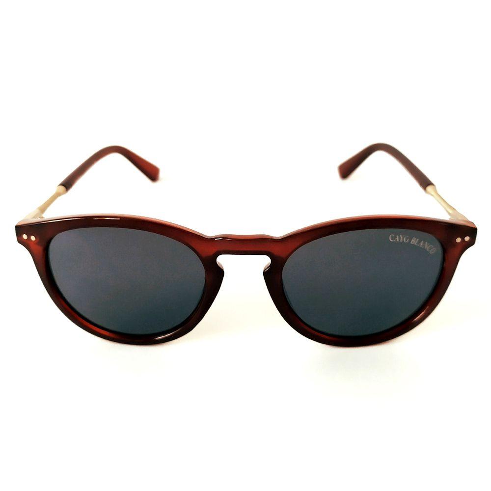 Óculos de Sol Redondo Vinho Cayo Blanco