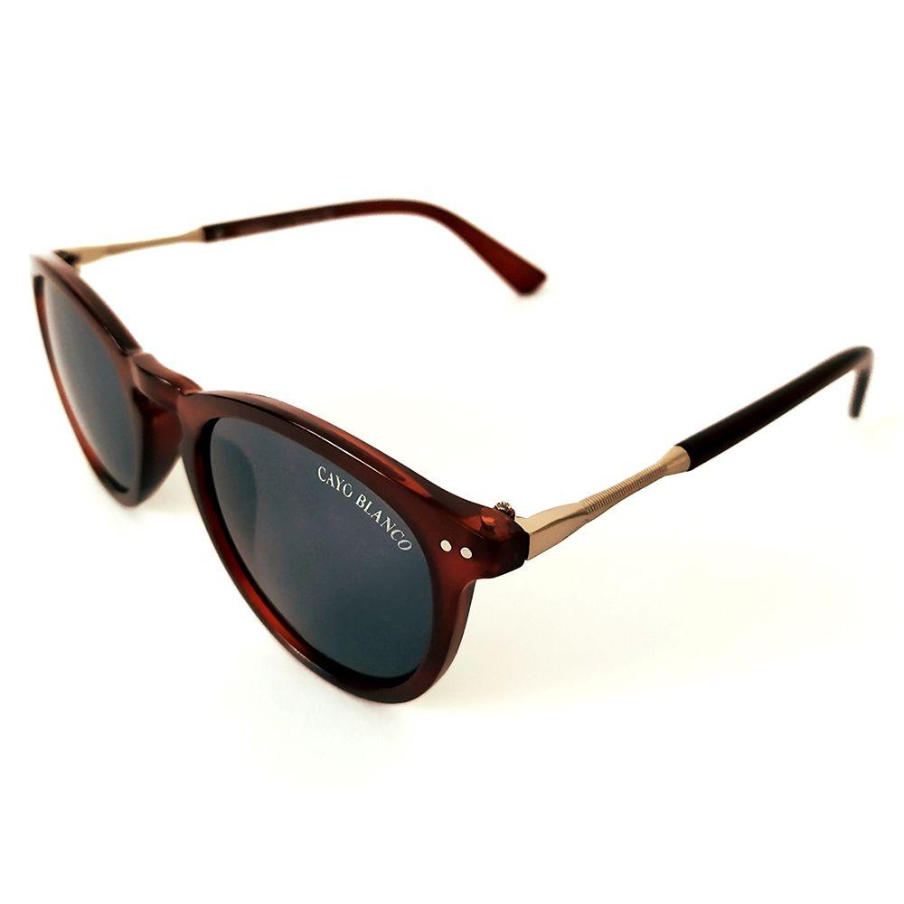 Óculos de Sol Redondo Vinho Cayo Blanco  - Cayo Blanco