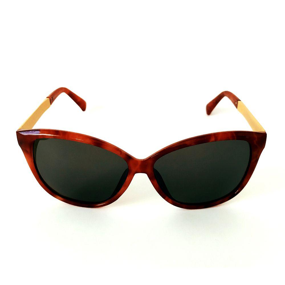 Óculos de Sol Wayfarer Marrom Cayo Blanco