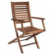 Cadeira Dobrável Parati com braço