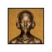 Quadro Golden Tones 123x123cm
