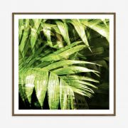 Quadro Green World II 82x82cm
