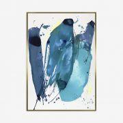 Quadro Motion Blue 72x102cm