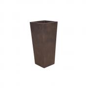 Vaso Vietnamita Quadrado em Cimento 75x32cm