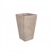 Vaso Vietnamita Quadrado em Terracota