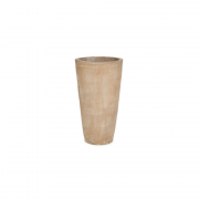 Vaso Vietnamita Redondo em Terracota 70x40cm