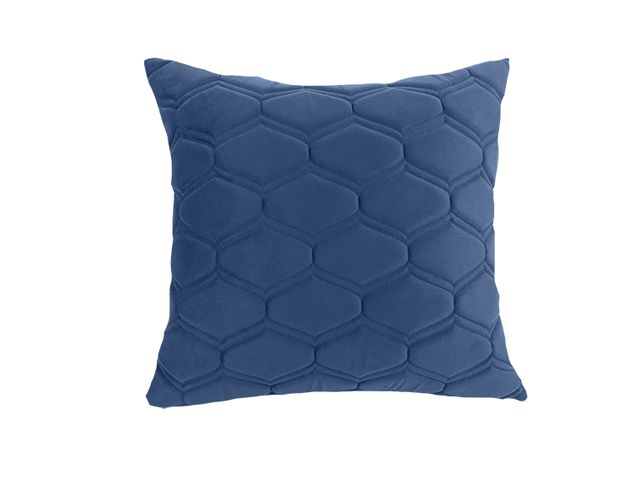 Almofada Veludo Azul 52x52