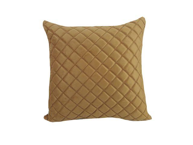 Almofada Veludo Dourado 52x52