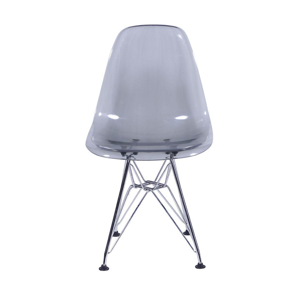 Cadeira Eames Eiffel com Base em Metal
