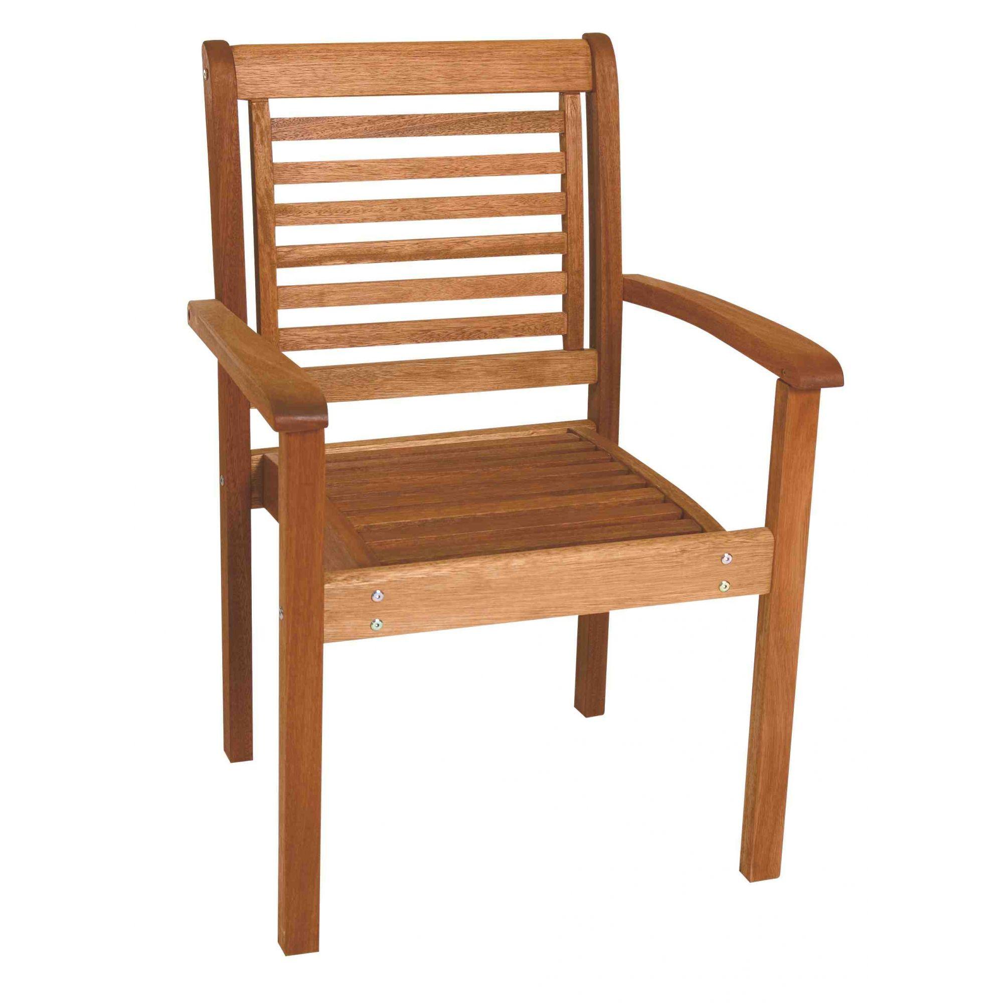 Cadeira Empilhável Milano com Braços