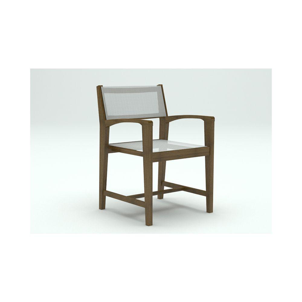Cadeira Tropical Tela com Braço