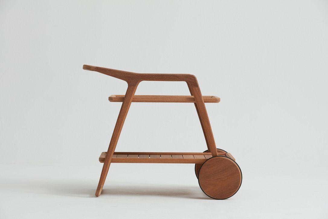 Carrinho Bar Mono - Designer: Pepê Lima