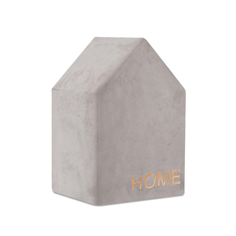 Enfeite Casa em Cimento 11cm
