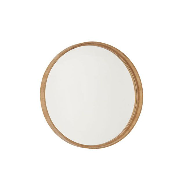 Espelho Bambu Redondo Natural 53cm
