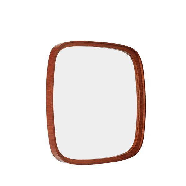 Espelho com Moldura Madeira Organics 90x90cm