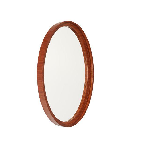Espelho com Moldura Madeira Organics Natural