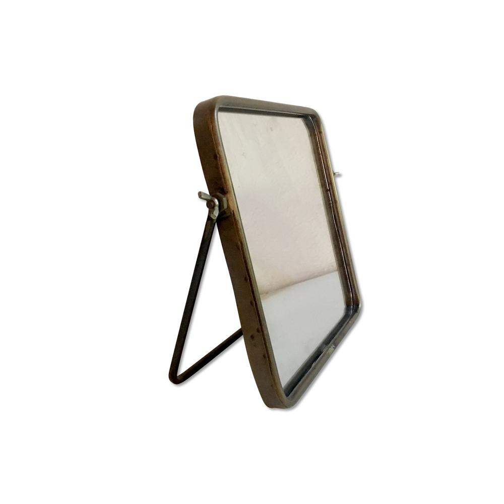 Espelho Marlin 25,5x25,5cm Dourado