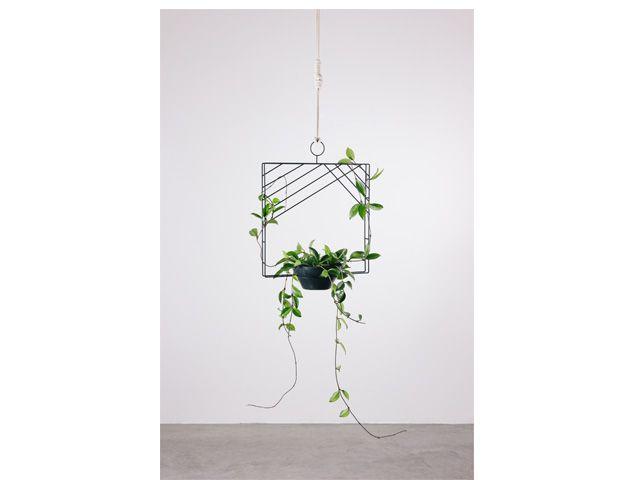 Guirlanda Quadrada-Suporte para plantas