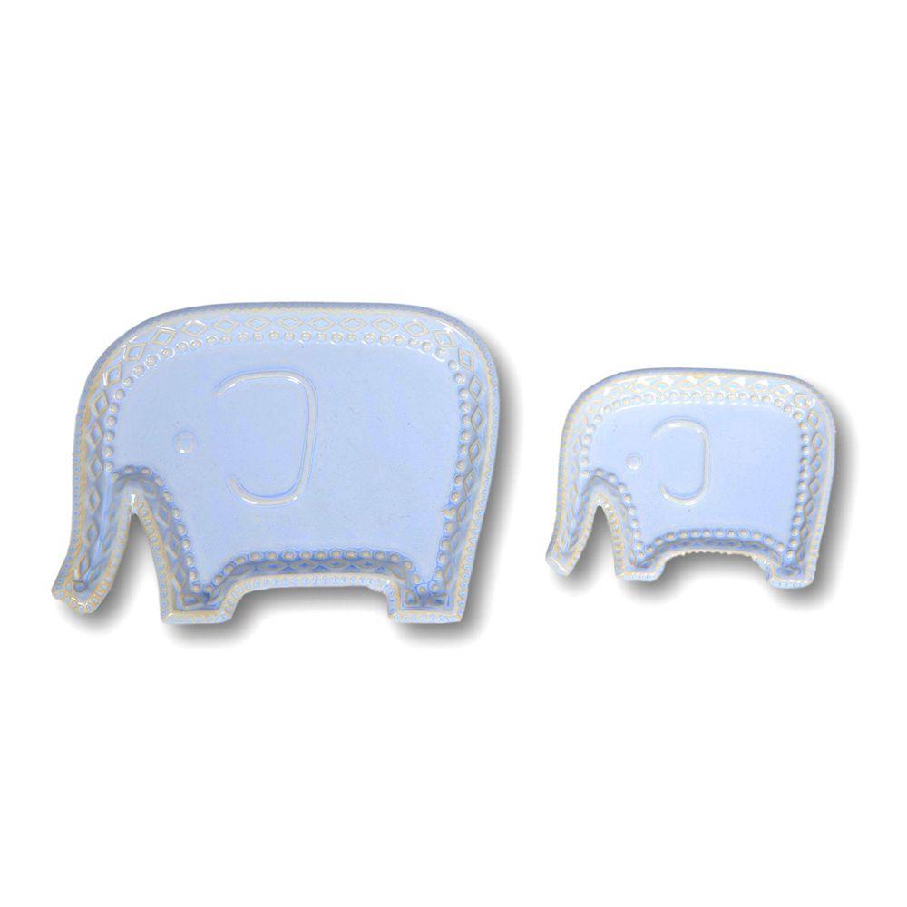 Jogo Enfeite Elephant com 2 Unidades