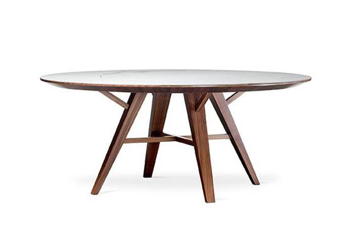 Mesa de Jantar Petra C/ Tampo Giratório - Designer: Tri Designer