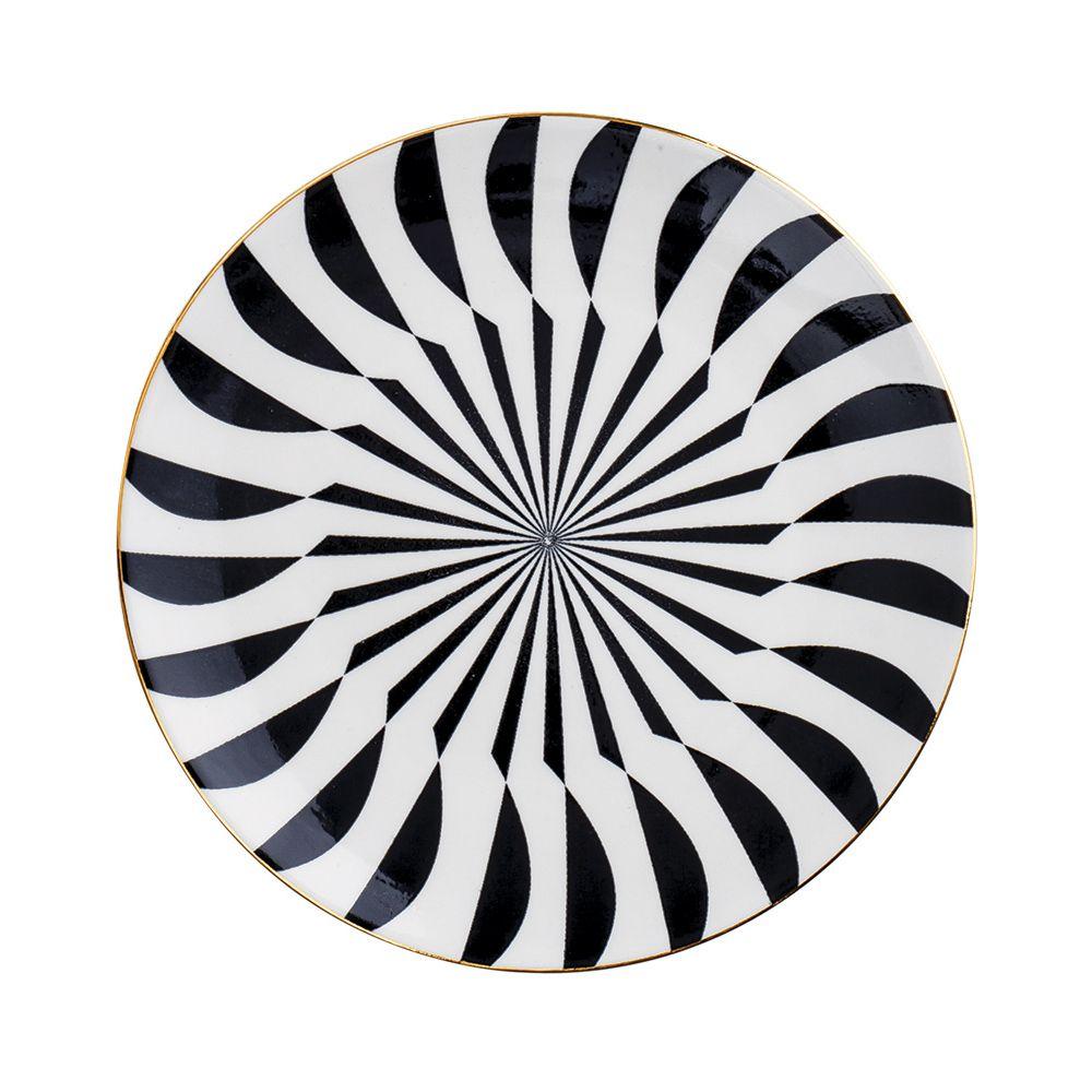 Prato Decorativo em Cerâmica 15cm