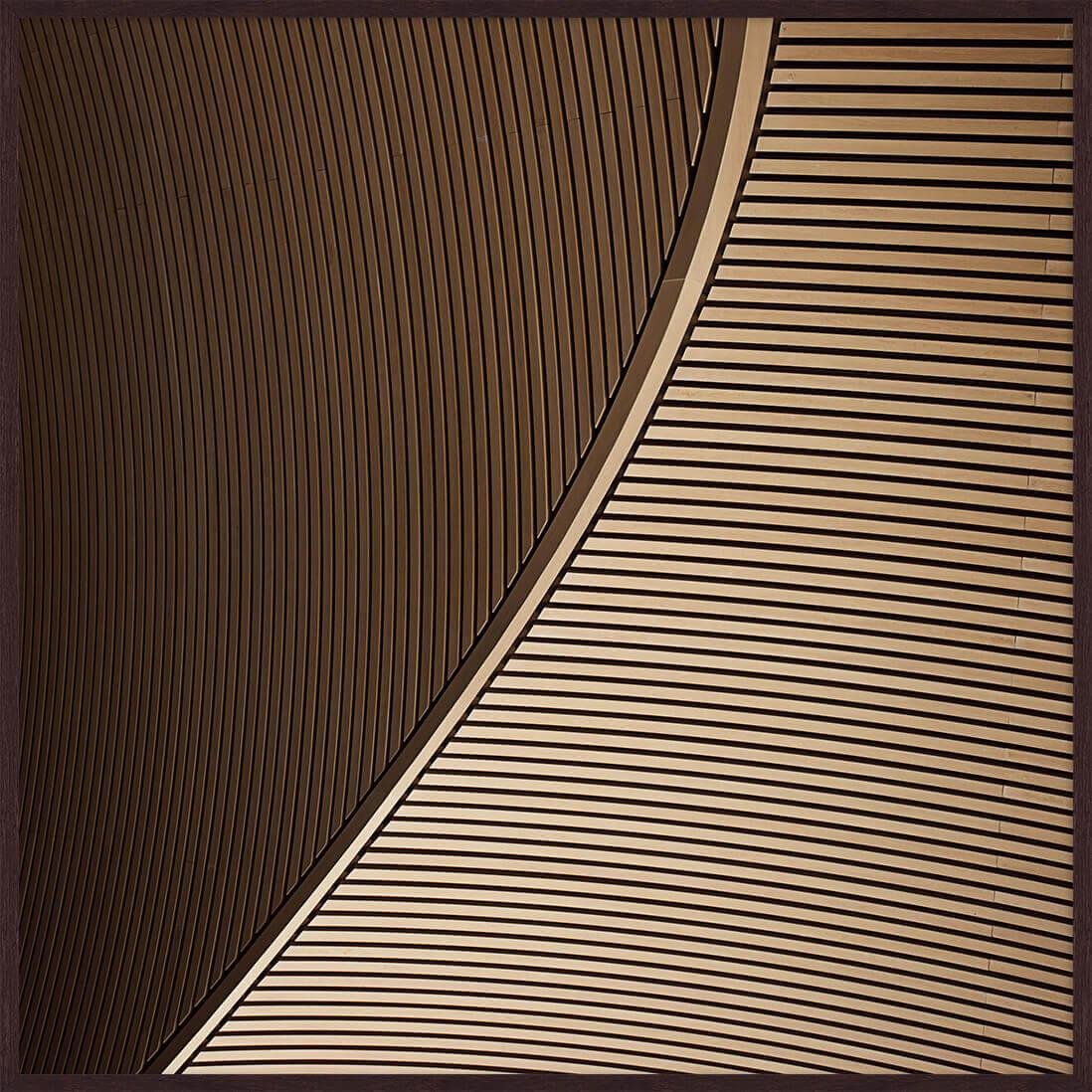 Quadro Arquitetura 93x93cm
