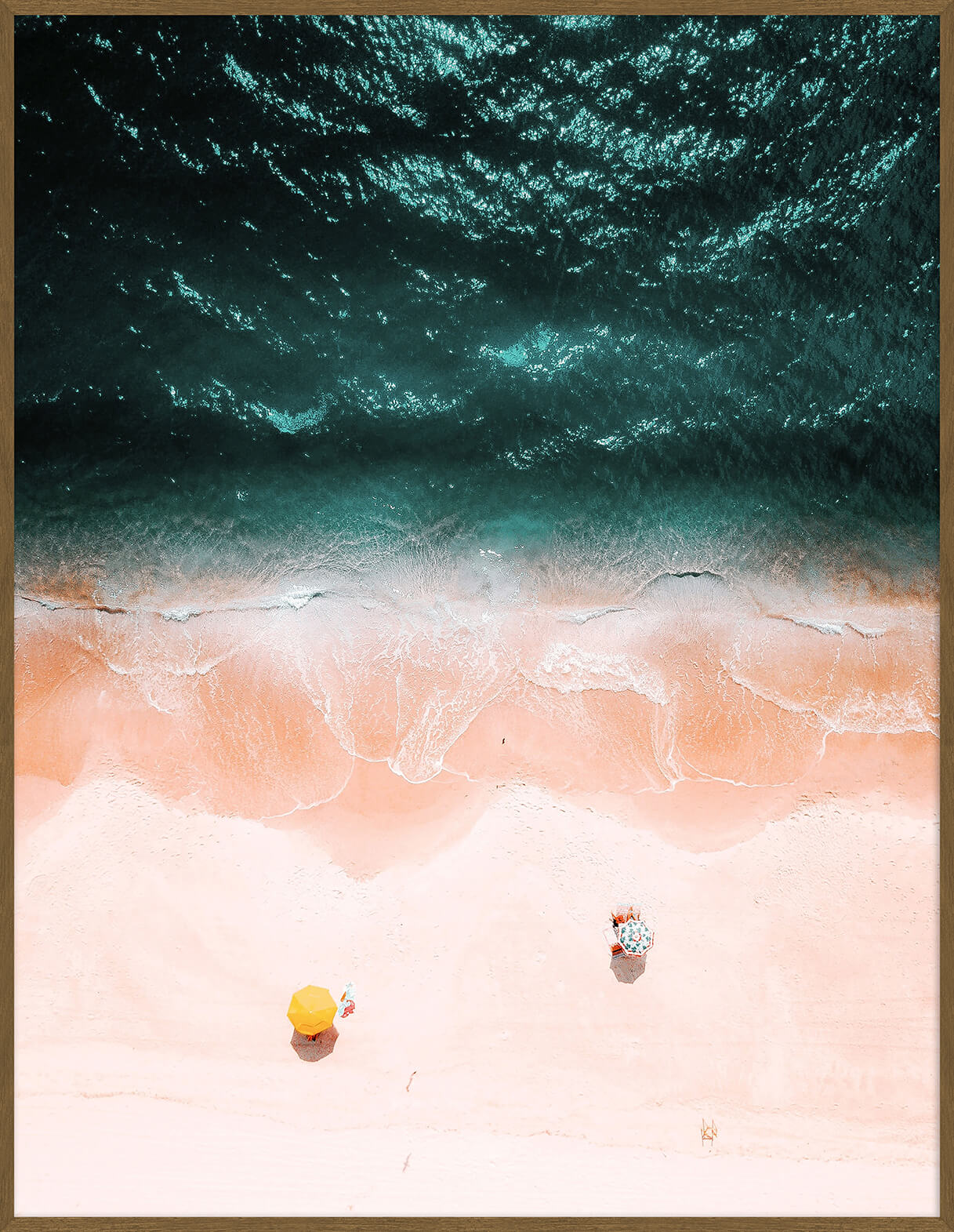 Quadro Beach And Water 103x133cm