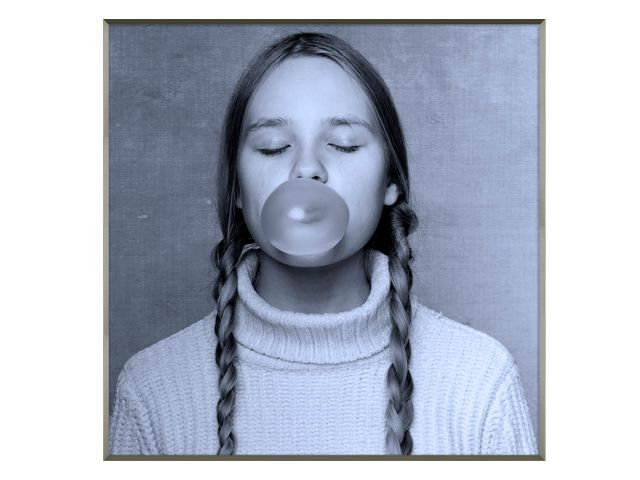 Quadro Bubble 123x123cm