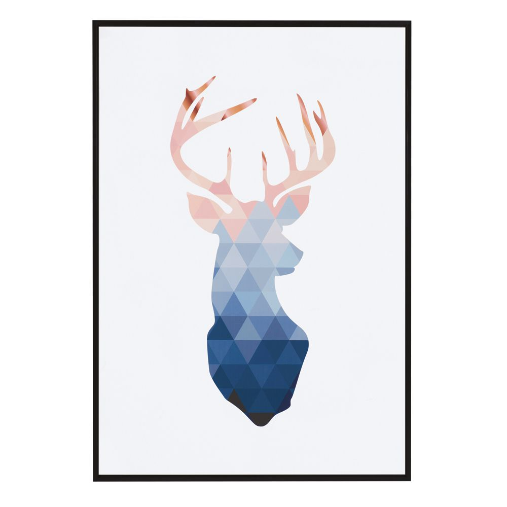 Quadro Cervo em Canvas 70x100cm