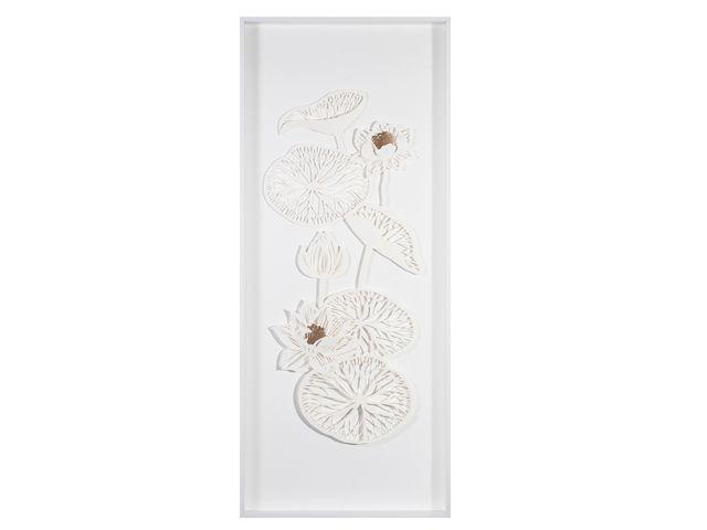 Quadro Coleção Flores 51x121cm