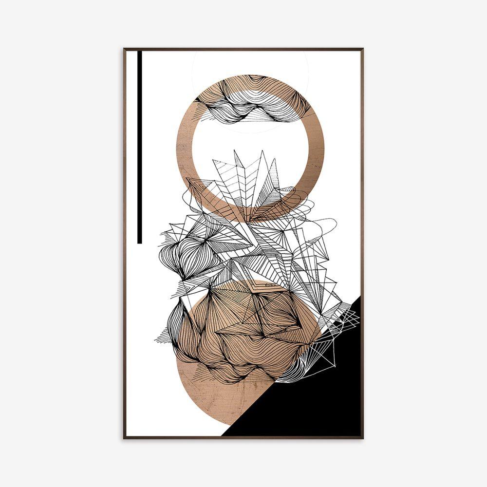 Quadro Cooper Abstract 56x91cm