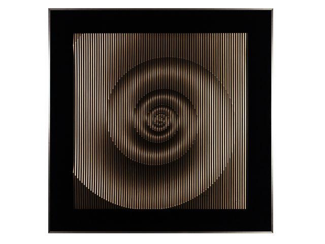 Quadro Espiral 123x123cm