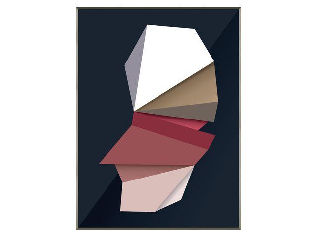 Quadro Folded 113x143cm