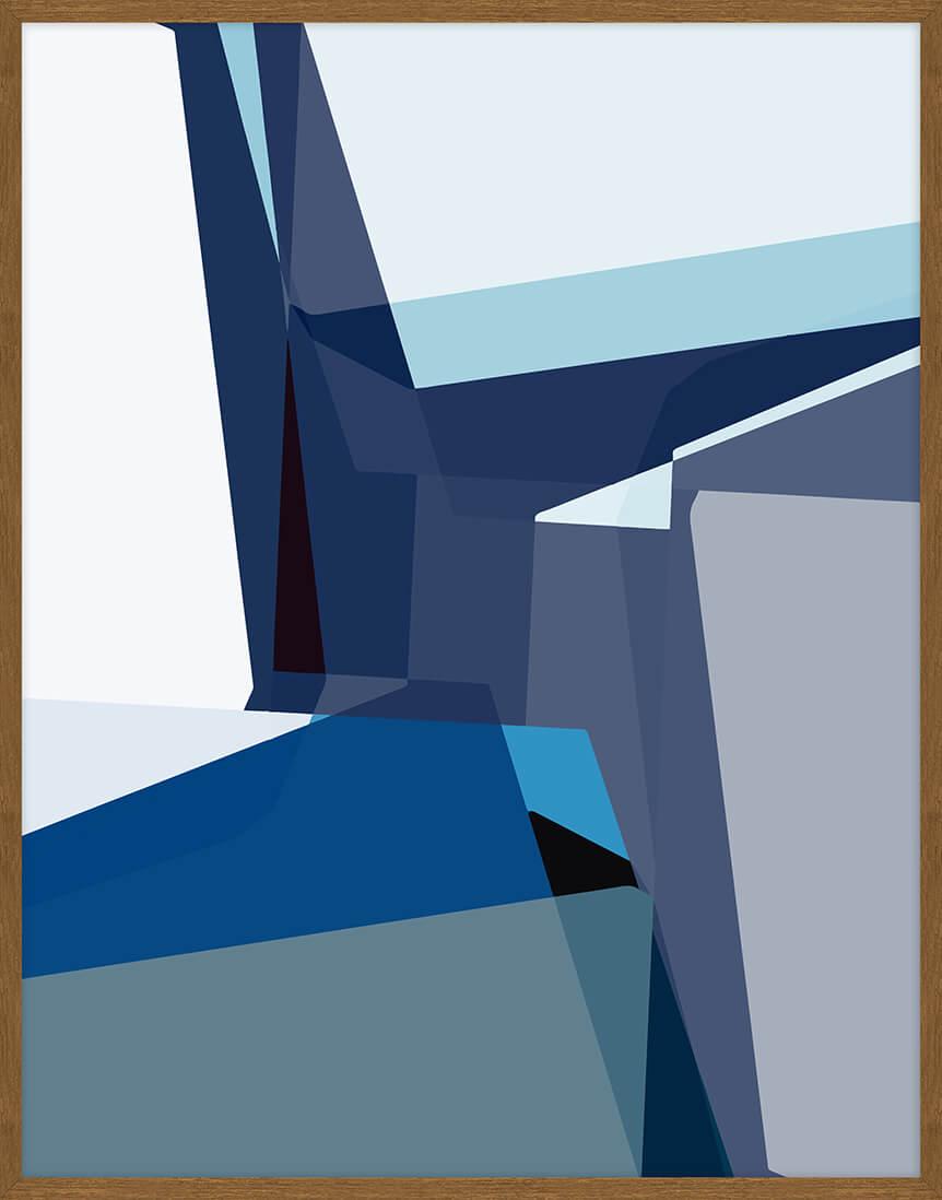 Quadro Geométrico 73x93cm