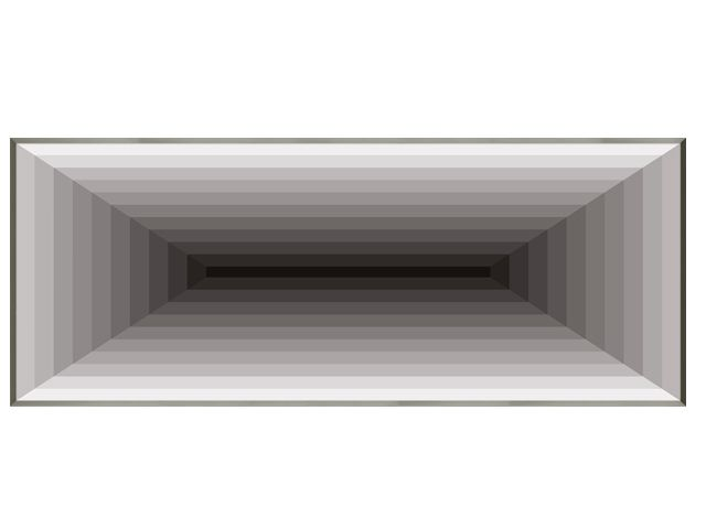 Quadro Minimal Space 73x183cm