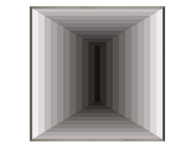 Quadro Minimal Space 93x93cm