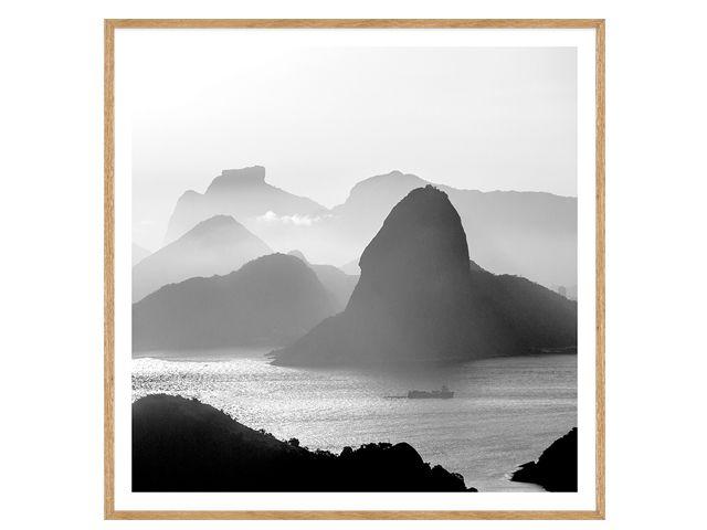 Quadro Rio de Janeiro 72x72cm