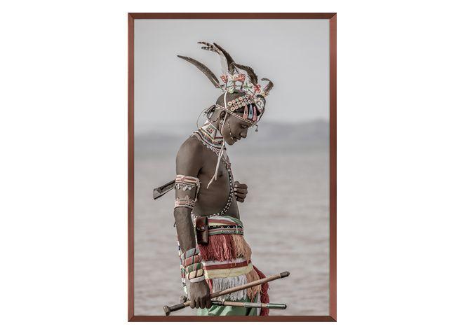Quadro Tribes Of Kenya 83x123cm